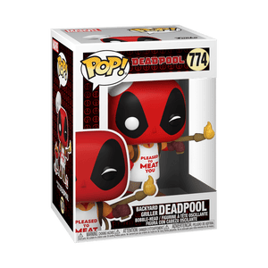 Funko POP! Marvel: Deadpool 30th - Backyard Griller Deadpool (Preorder) - Sweets and Geeks