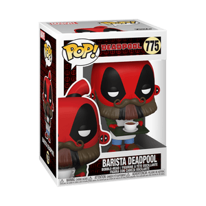 Funko POP! Marvel: Deadpool 30th - Barista Deadpool (Preorder) - Sweets and Geeks