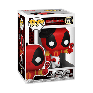 Funko POP! Marvel: Deadpool 30th - Flamenco Deadpool (Preorder) - Sweets and Geeks