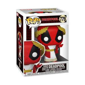 Funko POP! Marvel: Deadpool 30th - Roman Senator Deadpool (Preorder) - Sweets and Geeks