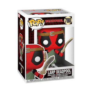 Funko POP! Marvel: Deadpool 30th - LARP Deadpool (Preorder) - Sweets and Geeks