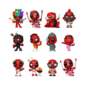 Funko POP! Marvel: Deadpool 30th Mystery Mini's Blind Box (Preorder) - Sweets and Geeks