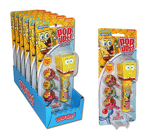 POP-UPS SPONGEBOB BLISTER PACK - Sweets and Geeks