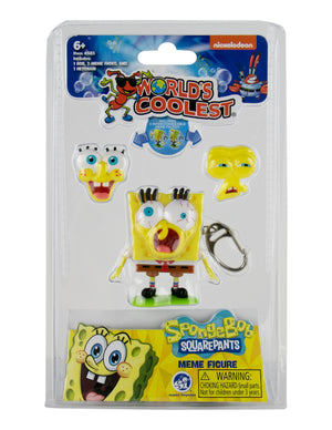 World's Coolest SpongeBob Meme Keychain - Sweets and Geeks