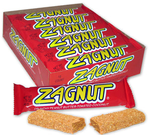 ZAGNUT BAR (PEANUT BUTTER/COCONUT) 1.5 oz Bar - Sweets and Geeks