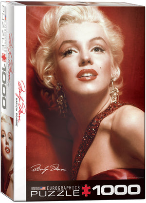Marilyn Monroe Red Portrait - Sweets and Geeks