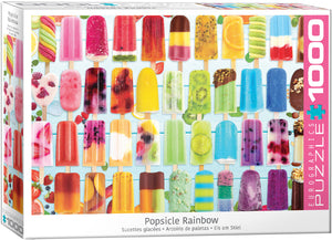 Popsicle Rainbow - Sweets and Geeks