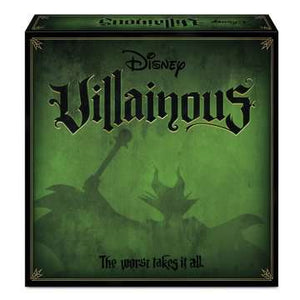 RENTAL GAME: Disney Villainous™ The worst takes it all - Sweets and Geeks