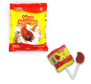 VERO MANGO W/ CHILI POP - 0.56 oz - Sweets and Geeks