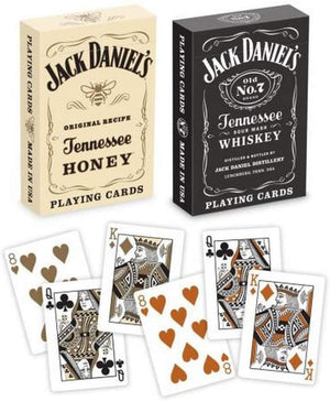 Jack Daniels Black/ Honey Standard Playing Cards - Sweets and Geeks