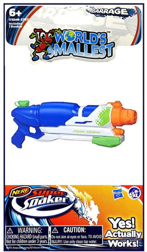 World's Smallest Super Soaker - Sweets and Geeks
