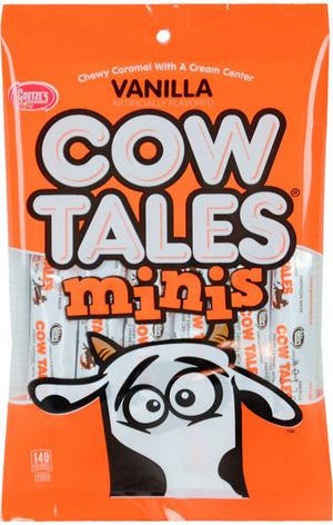 Mini Vanilla Caramel Cow Tales - Sweets and Geeks