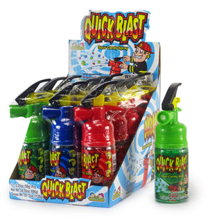 KIDSMANIA QUICK BLAST - SOUR CANDY SPRAY - Sweets and Geeks