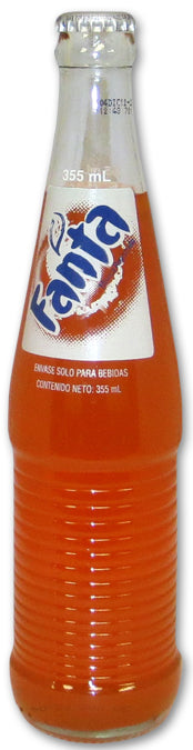 MEXICAN FANTA ORANGE BOTTLES - Sweets and Geeks