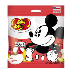 Mickey Mouse Jelly Beans - 2.8 oz Bag - Sweets and Geeks