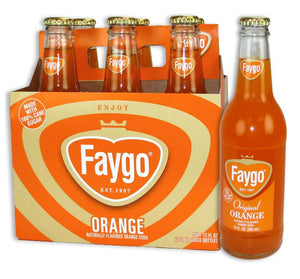Faygo Orange Soda - Sweets and Geeks