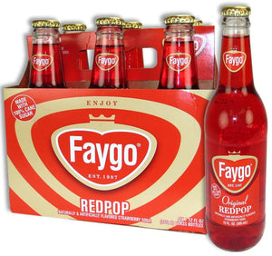 Faygo Original RedPop Soda - Sweets and Geeks