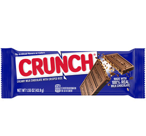 CRUNCH SINGLES BAR 1.55 OZ Bar - Sweets and Geeks