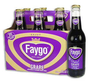 Faygo Grape Soda - Sweets and Geeks