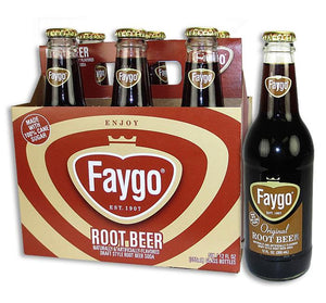 Faygo Root Beer Soda - Sweets and Geeks