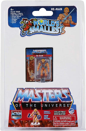 World's Smallest Masters of the Universe - Sweets and Geeks