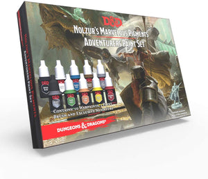 Dungeons and Dragons Nolzur's Marvelous Pigments: Adventurers Paint Set - Sweets and Geeks