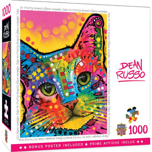 So Puuuurty 1000pc Puzzle - Sweets and Geeks