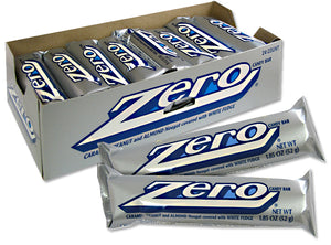 Zero Chocolate Candy Bar 1.85 OZ - Sweets and Geeks