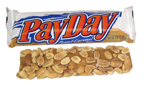 PAYDAY PEANUT CARAMEL BAR 1.85 oz - Sweets and Geeks