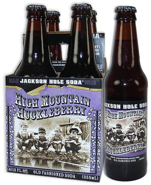 Jackson Hole High Mountain Huckleberry Soda - Sweets and Geeks