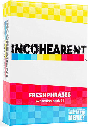 Incohearent Fresh Phrases Expansion Pack 1 - Sweets and Geeks