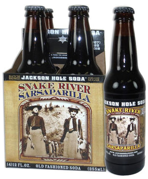 Jackson Snake River Sarsaparilla Soda - Sweets and Geeks
