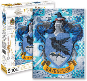 Harry Potter Puzzle Ravenclaw Crest (500 Piece Jigsaw Puzzle) - Sweets and Geeks