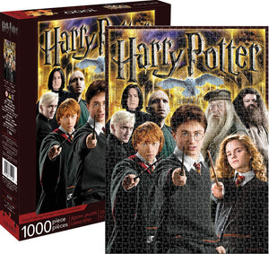 Harry Potter Collage 1,000 Piece Jigsaw Puzzle - Sweets and Geeks