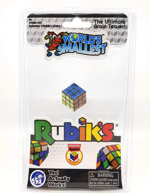 World's Smallest Rubik's Cube - Sweets and Geeks