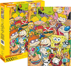 Nickelodeon Cast 1000 Piece Puzzle - Sweets and Geeks