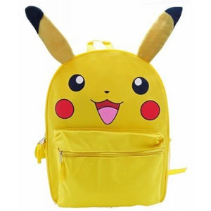 "Pikachu 16"" Backpack W/ Ears - Sweets and Geeks"