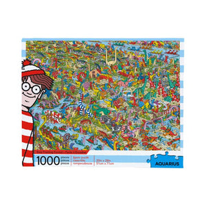Where's Waldo Dinosaurs 1,000pc Puzzle - Sweets and Geeks