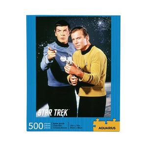 Star Trek - Kirk & Spock 500 Piece Jigsaw Puzzle - Sweets and Geeks