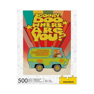 Scooby Doo Where Are You? 500 Piece Jigsaw Puzzle - Sweets and Geeks