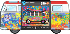 VW - Wave Hopper 550-Piece Puzzle - Sweets and Geeks
