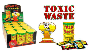 TOXIC WASTE DRUMS - Sweets and Geeks