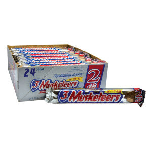3 MUSKETEERS 3.28 OZ KING SIZE BAR - Sweets and Geeks