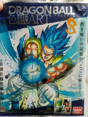 "Dragon Ball Shikishi Art Vol.8 ""Dragon Ball"" Bandai Shikishi Art Pack - Sweets and Geeks"