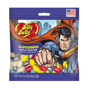 Superman™ Jelly Beans 2.8 oz Grab & Go® Bag - Sweets and Geeks