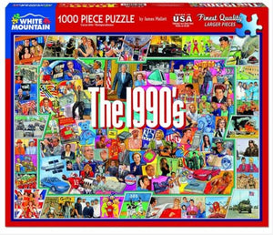The Nineties 1000 Piece Jigsaw Puzzle - Sweets and Geeks