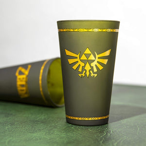 Hyrule Crest Glass - Sweets and Geeks
