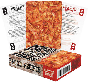 Bacon Recipes Playing Cards - Sweets and Geeks