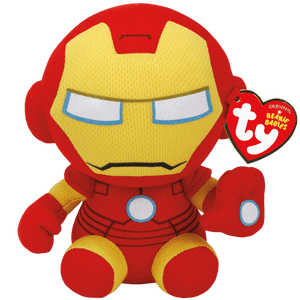 "Ty Marvel - Ironman 8"" Beanie Baby - Sweets and Geeks"