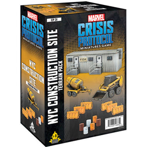 Marvel Crisis Protocol: NYC Construction Expansion - Sweets and Geeks